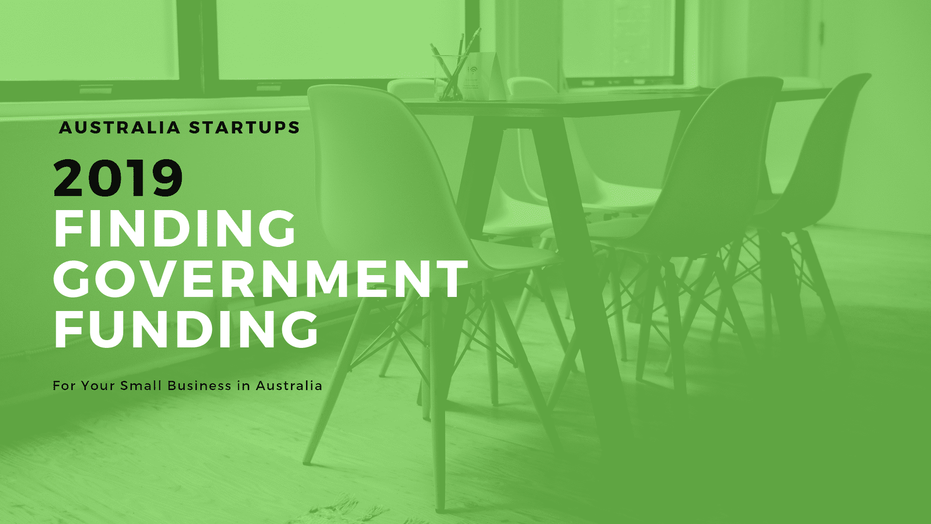 Finding Government Funding in Australia